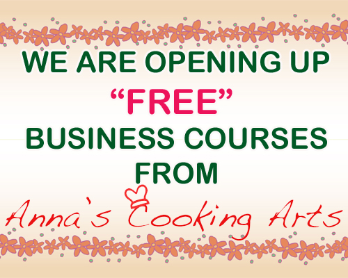 Business Courses from Annas Cooking Arts