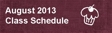 September 2013 Class Schedule