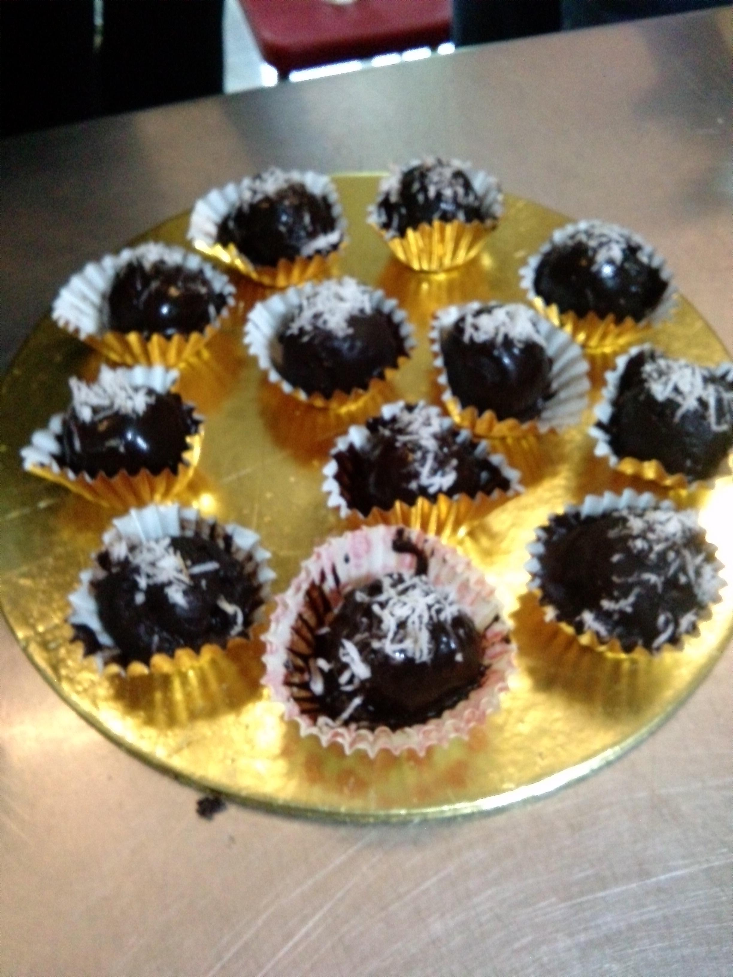 爱上巧克力也胖不甜品下午茶 (2)