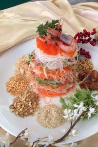 Fresh Salmon Sashimi Yu Sheng for 2020